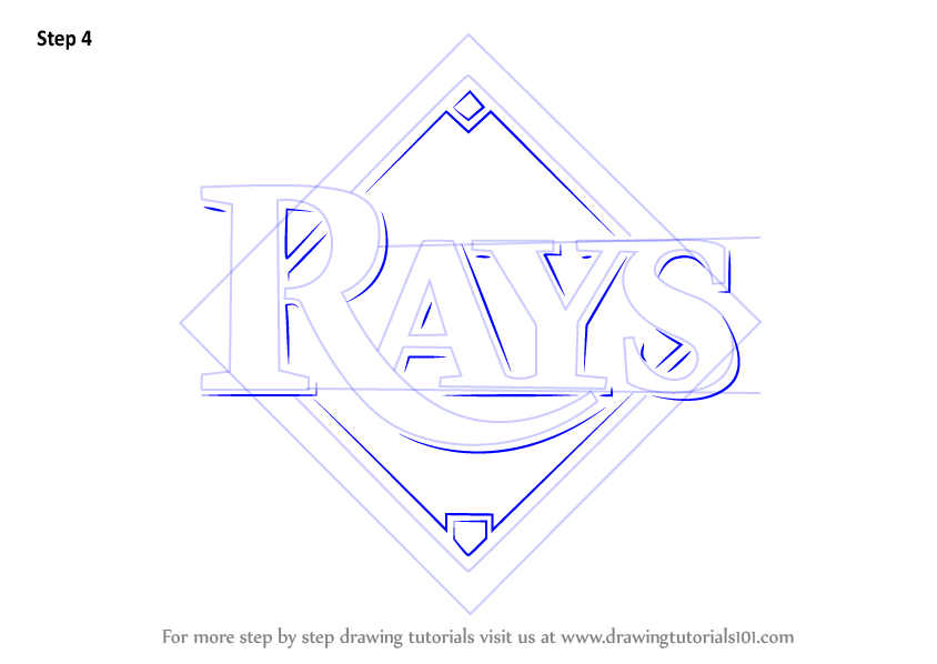 rays logo coloring pages - photo#7