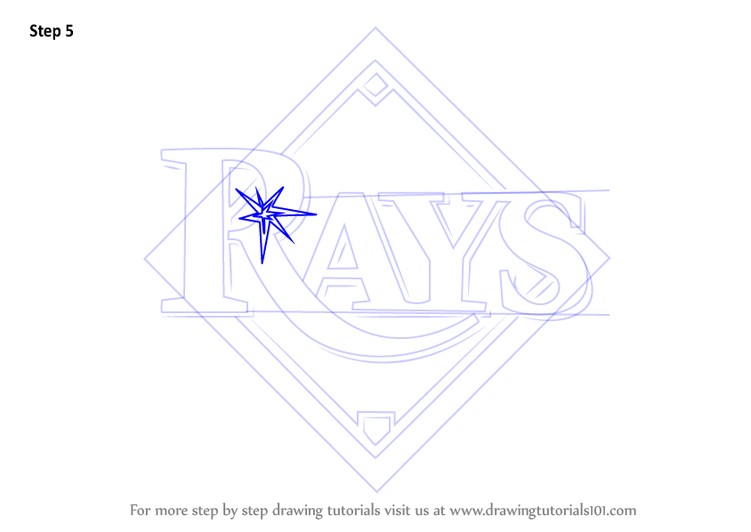 rays logo coloring pages - photo#11