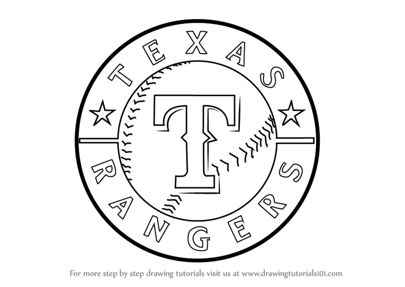 Learn How to Draw Texas Rangers