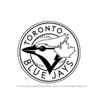 How to Draw Toronto Blue Jays Logo
