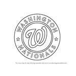 How to Draw Washington Nationals Logo