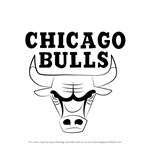 How to Draw Chicago Bulls Logo