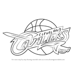 How to Draw Cleveland Cavaliers Logo