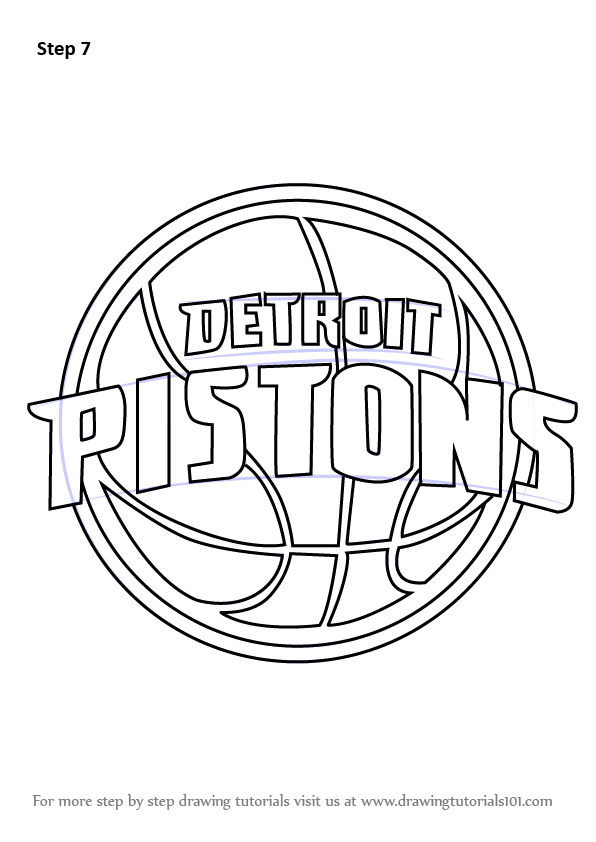 Learn How to Draw Detroit Pistons