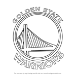 How to Draw Golden State Warriors Logo