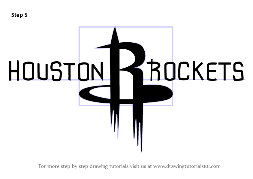 Learn How to Draw Houston Rockets