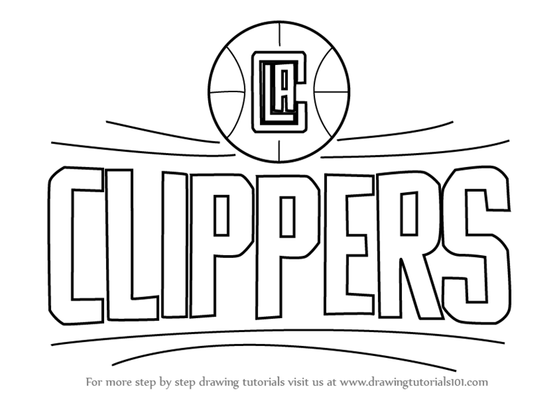 nba clippers coloring pages - photo#5