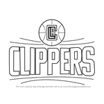 How to Draw Los Angeles Clippers Logo