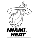 How to Draw Miami Heat Logo