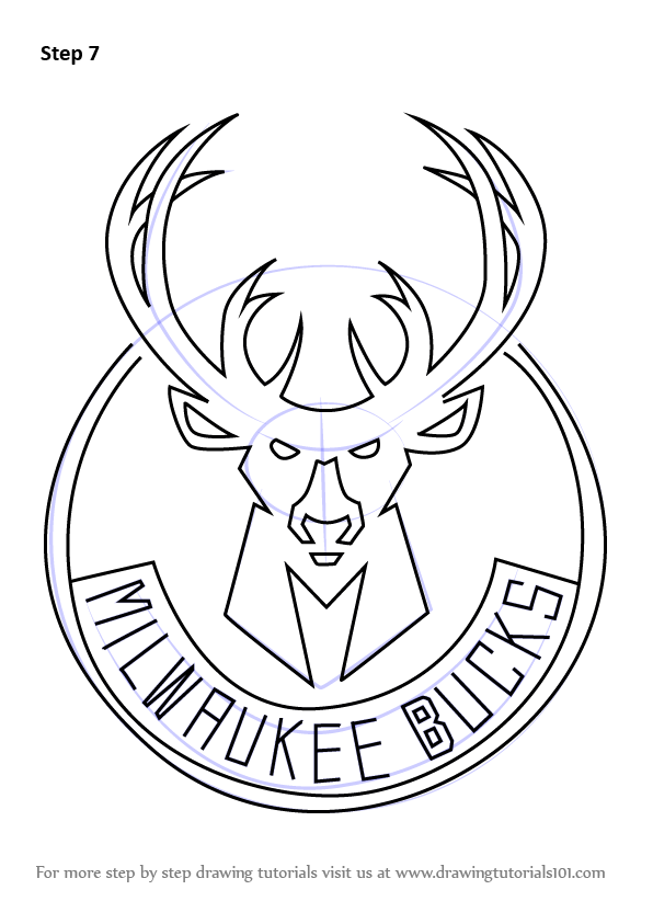 Milwaukee Bucks Coloring Pages Search More Nba