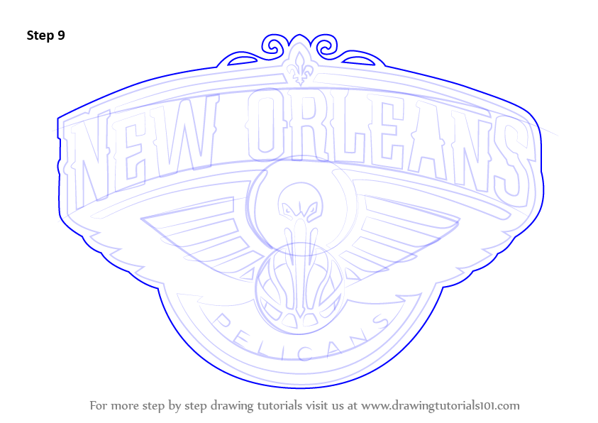new orleans pelicans coloring pages - photo#21