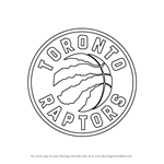 How to Draw Toronto Raptors Logo
