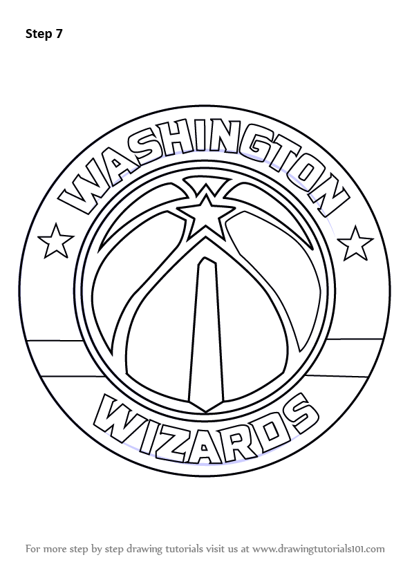 Learn How to Draw Washington Wizards