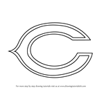 How to Draw Chicago Bears Logo