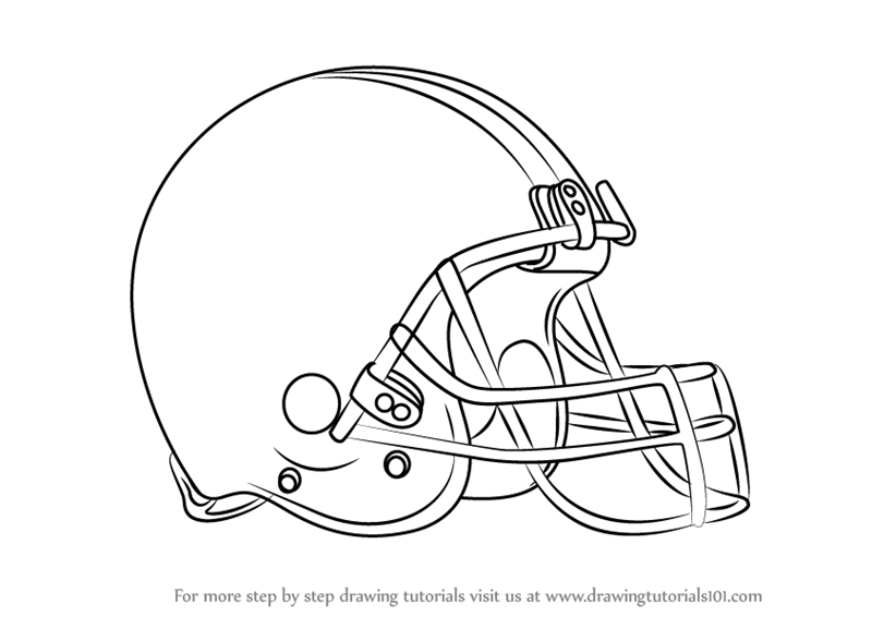 c7b53a0be44 Learn How to Draw Cleveland Browns Logo (NFL) Step by Step   Drawing ...