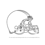 How to Draw Cleveland Browns Logo