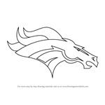 How to Draw Denver Broncos Logo