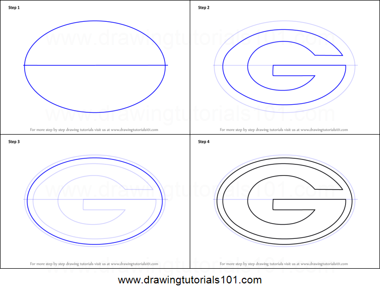 picture about Green Bay Packers Printable Logo titled How in direction of Attract Environmentally friendly Bay Packers Symbol printable phase as a result of action