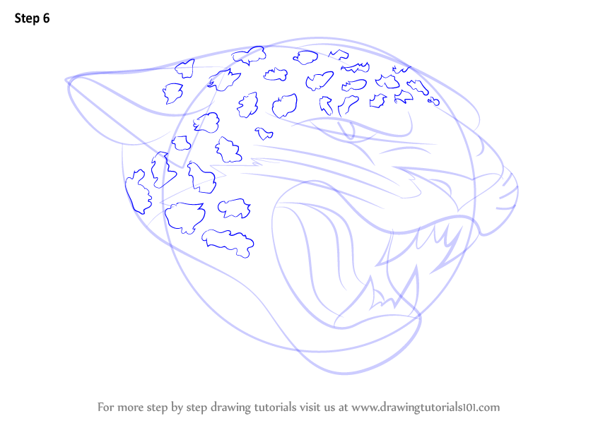 how to draw a jaguar