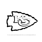 How to Draw Kansas City Chiefs Logo