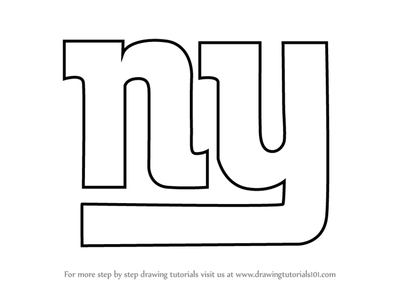 Gallery For gt Ny Giants Logo Black And White