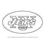 How to Draw New York Jets Logo