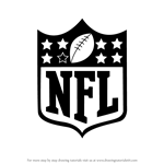 How to Draw NFL Logo