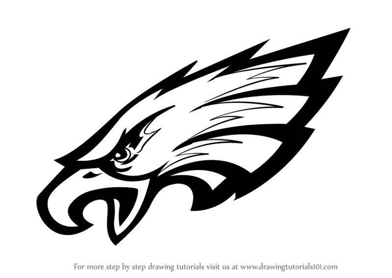 Philadelphia Eagles Logo Coloring