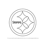 How to Draw Pittsburgh Steelers Logo