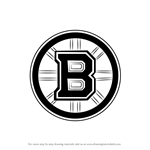 How to Draw Boston Bruins Logo