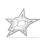 How to Draw Dallas Stars Logo
