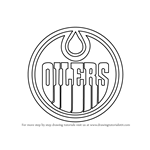 How to Draw Edmonton Oilers Logo