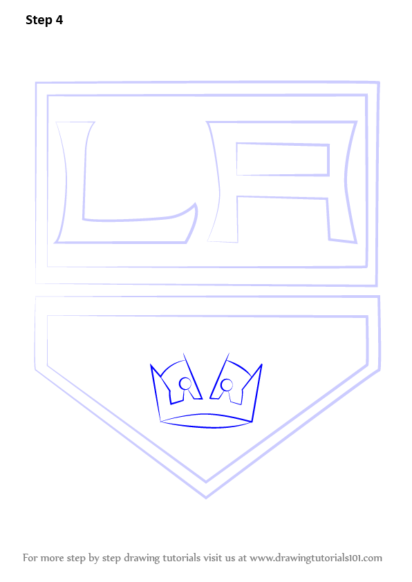 los angeles kings coloring pages - photo#13