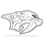 How to Draw Nashville Predators Logo