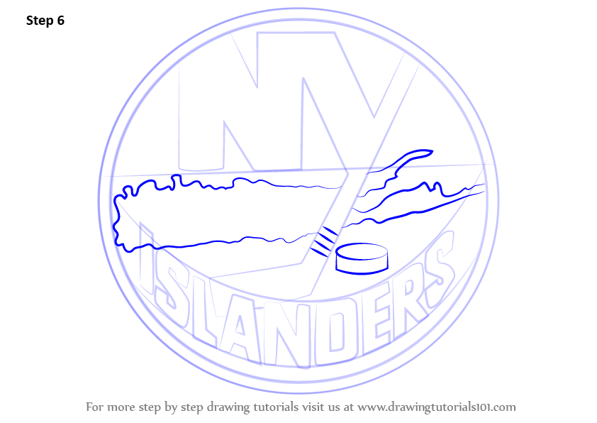 how to draw new york giants logo