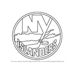 How to Draw New York Islanders Logo