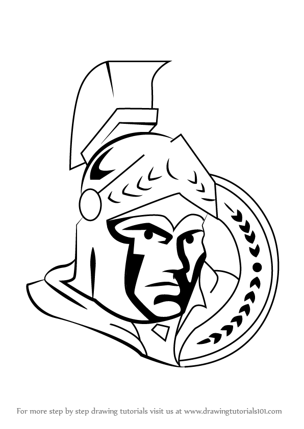 ottawa senators coloring pages - photo#4