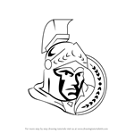 How to Draw Ottawa Senators Logo