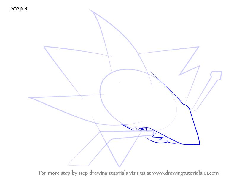 Step by Step How to Draw San Jose Sharks Logo ...