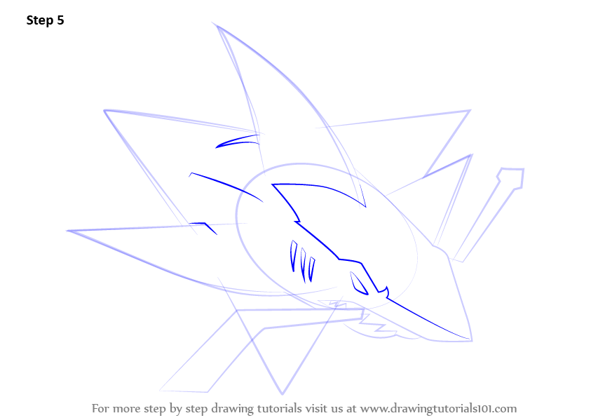 Step by step how to draw san jose sharks logo for San jose sharks coloring pages