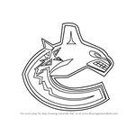 How to Draw Vancouver Canucks Logo