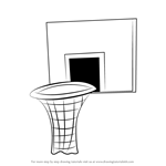 How to Draw Basketball Hoop