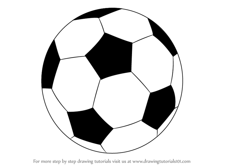 Learn how to draw a football other sports step by step drawing tutorials