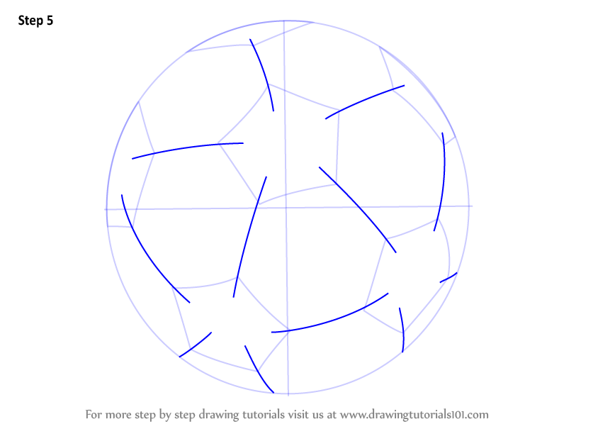 Learn How To Draw A Football Other Sports Step By Step