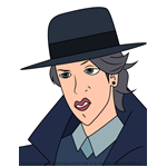 How to Draw Dash Haber from Carmen Sandiego