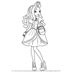 How to Draw Apple White from Ever After High