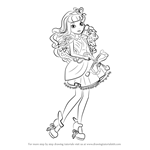 How to Draw C.A. Cupid from Ever After High
