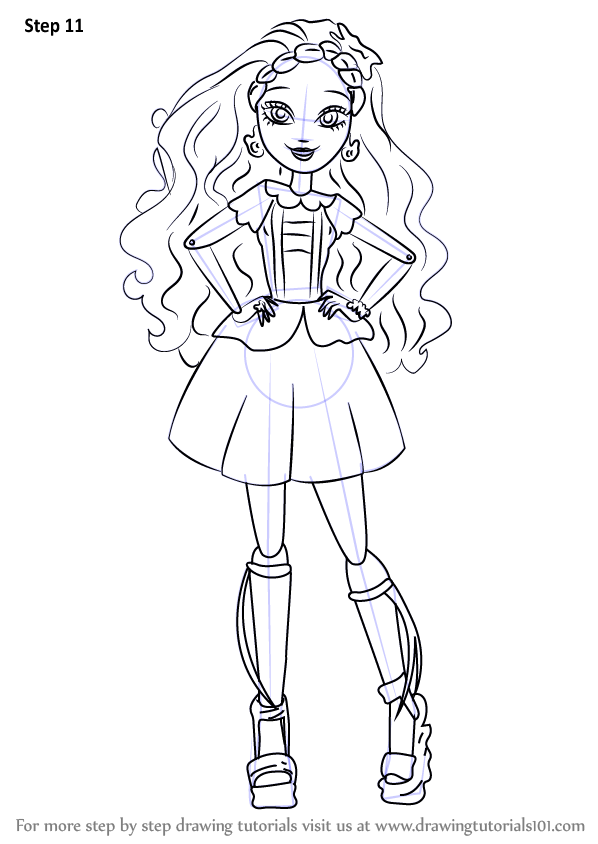 Learn How To Draw Cedar Wood From Ever After High Ever