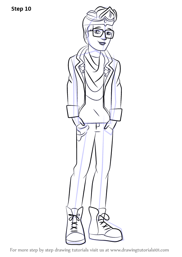 Learn How To Draw Dexter Charming From Ever After High Ever After