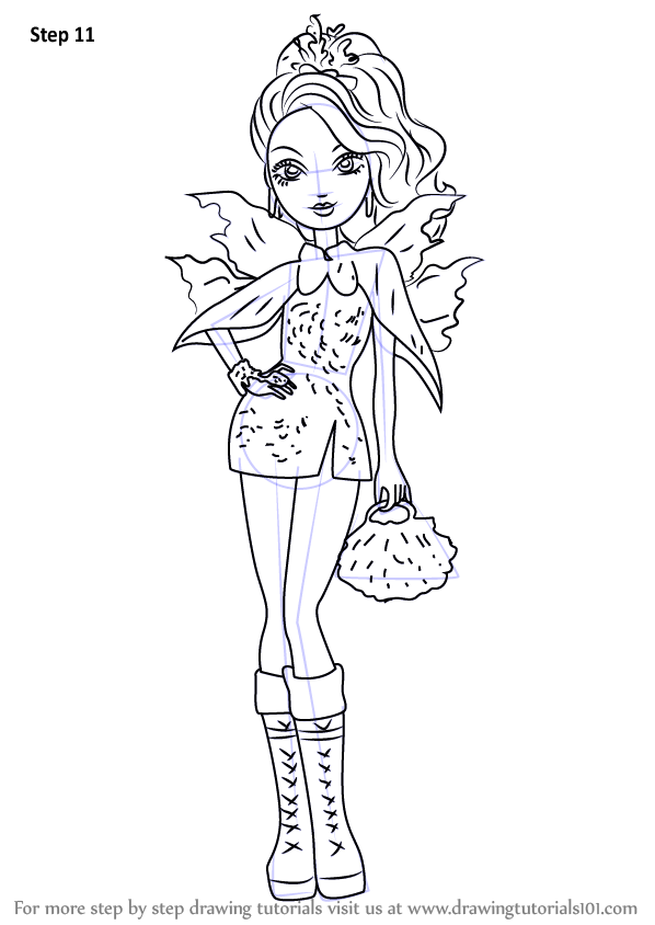 Learn How To Draw Faybelle Thorn From Ever After High